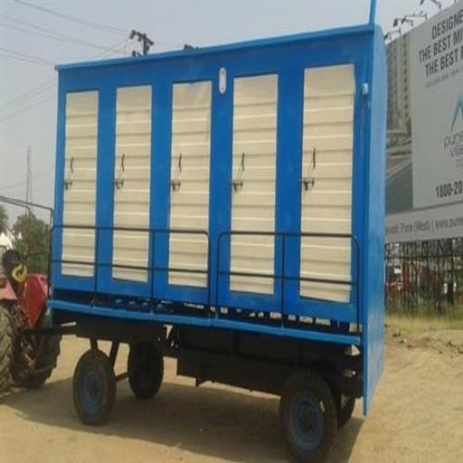 10 seater Mobile Toilet