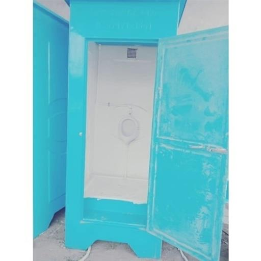 Single urinal cabin