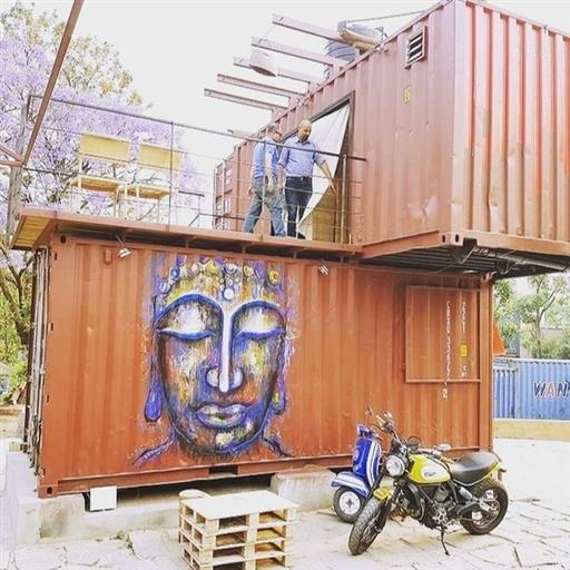 Restaurant Shipping containers