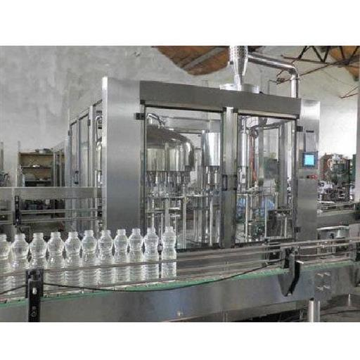 Automatic Industrial RO Mineral Water Bottling Plant