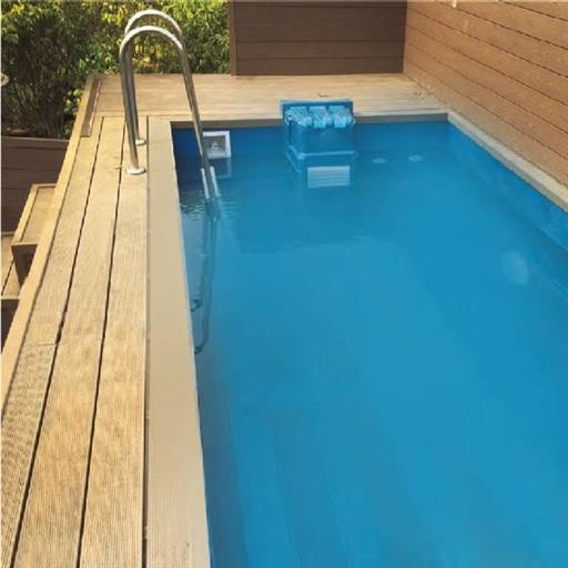 Plunge Swimming pool with filter