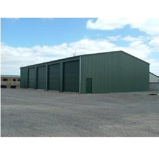 Pre engineered warehouse fabrication