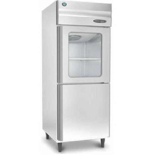 Stainless Steel Double Door Commercial Upright Refrigerator