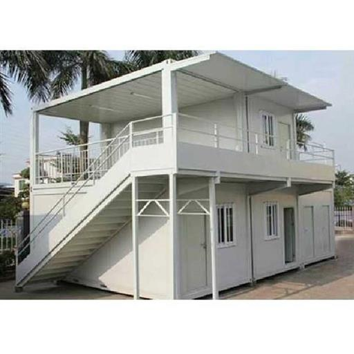 White PUF Outdoor Prefabricated House