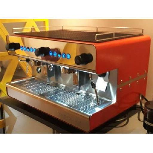Red Double Group Espresso Coffee Machine