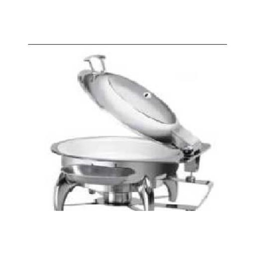 Round chaffer with fuel