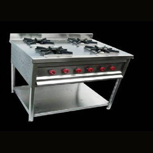 4 Burner Gas Stove Continental
