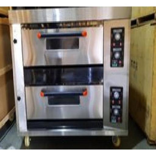 Bakery 2 Deck 4 Tray Gas Baking Oven