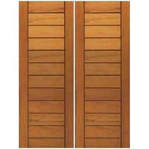 Double core door