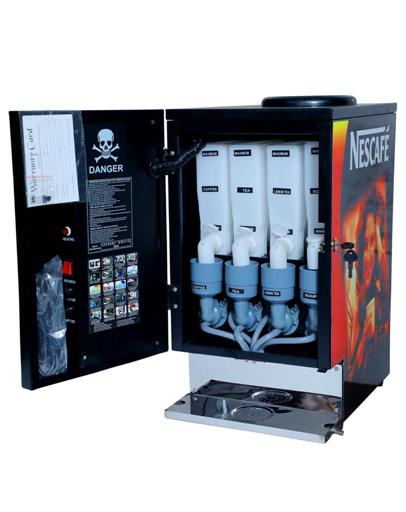 Nescafe 3 option coffee Tea soup Machine