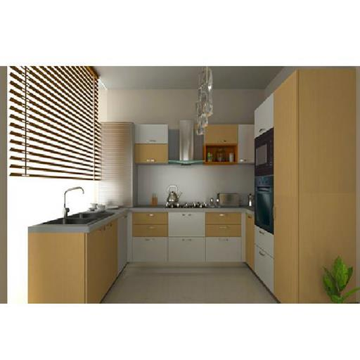 U Shape Modular Kitchen (Customize Size)
