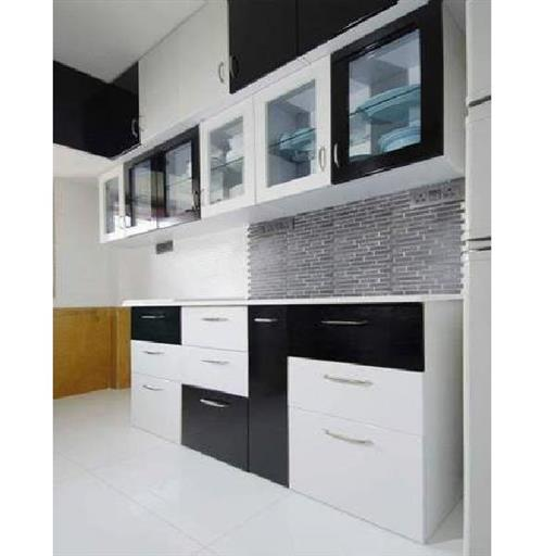 Modular Kitchen With Cabinet