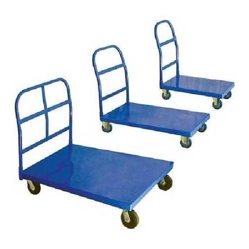 Mild Steel Warehouse Platform Trolley