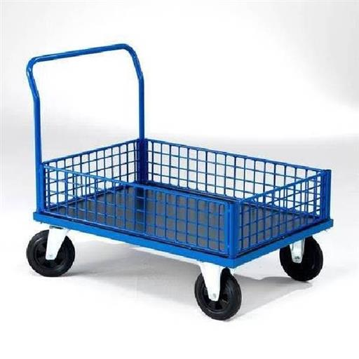 Mild Steel Heavy Duty Hand Trolley