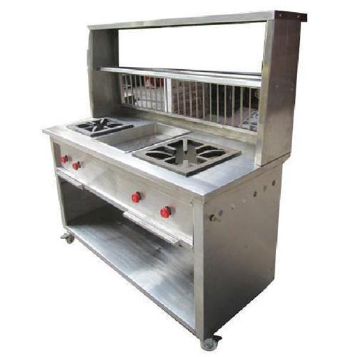 Stainless Steel Chole Bhature Counter 15500
