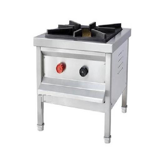 Stainless Steel Stock Pot Stove, 1