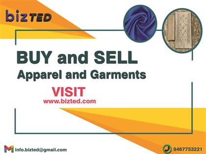 Buy and Sell Apparel & Garments