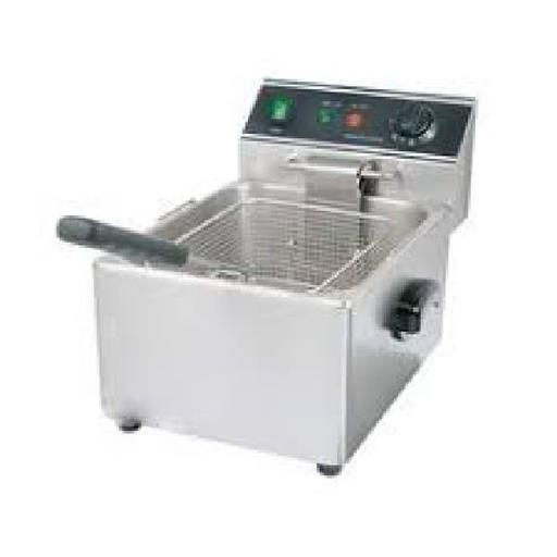 Deep (French) Fryer 5Ltr. DOUBLE WITH STAND