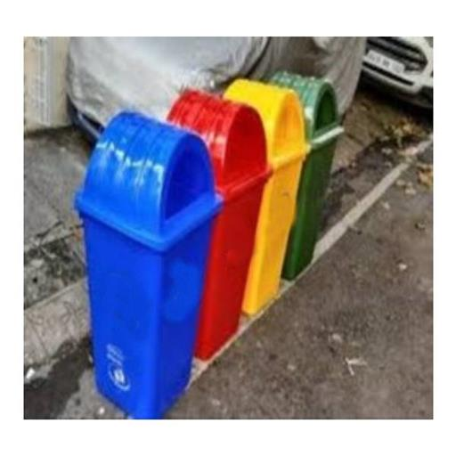 Plastic Dustbin With Dome Lid