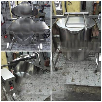 Stainless Steel Tilting Boiling Pan