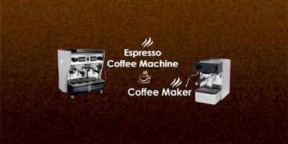 What Is the Difference between Espresso Coffee Machine and Coffee Maker?