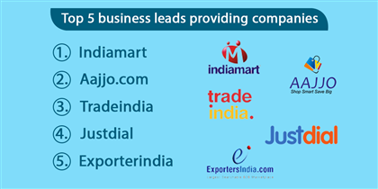 Top 5 business leads providing companies in India