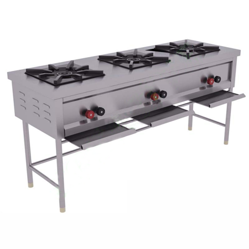3 Burner Indian Range