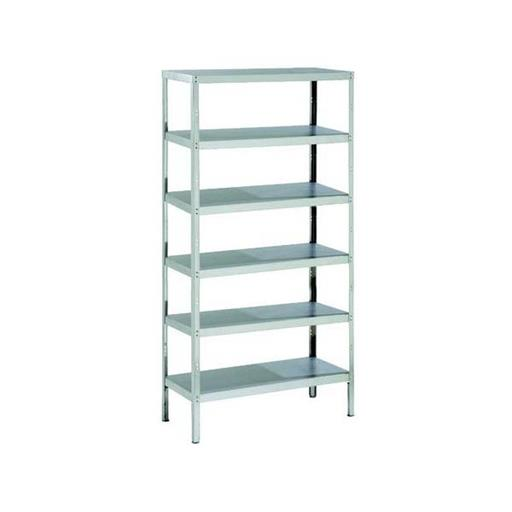 6-7 Feet Silver SS Rack, for Home