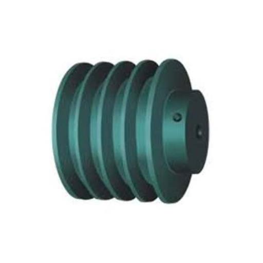 Cast Iron V Belt Solid Pulley for Conveyor, Capacity: 1 Ton
