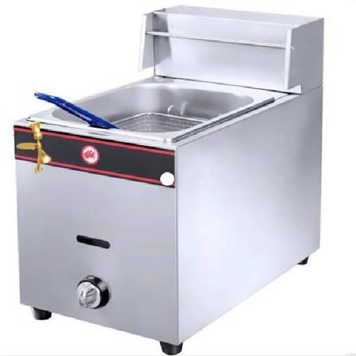 1 Tank 1 Basket Gas Deep Fryer