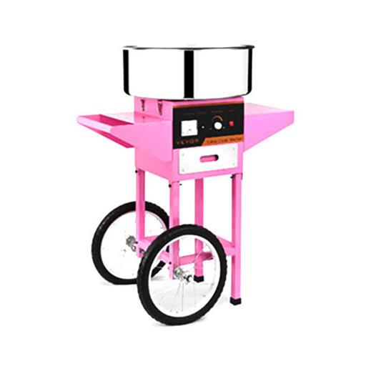 Electric Floss Cotton Candy Machine with Cart