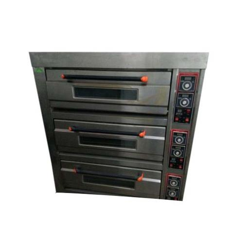 Electric Industrial Three Deck Oven, Capacity: 30 Pizza At A Time, 3