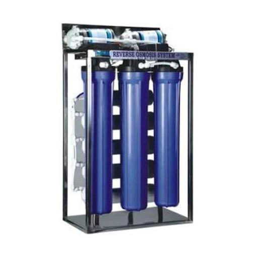 FRP Automatic 3 Filter Commercial Reverse Osmosis System