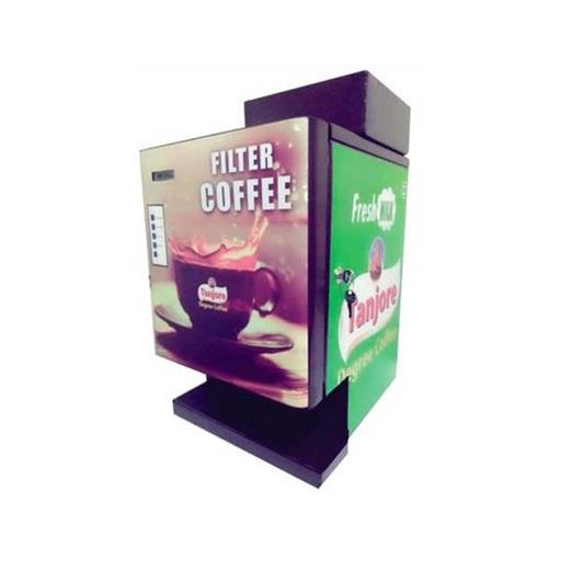 Stainless Steel and Mild Steel Filter Coffee Vending Machine