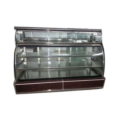 Glass 4 Shelves Sweet Display Counter, 110 W ,Warranty: 1 Year