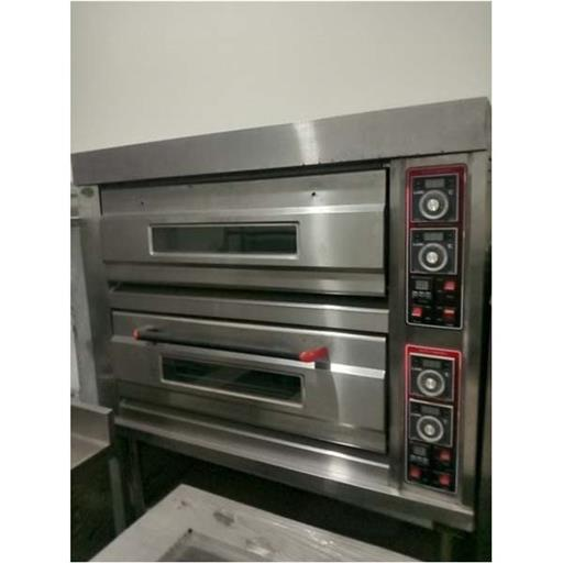 Industrial Electric Oven, 2200, Model Name/Number: 2 Deck 4 Tray
