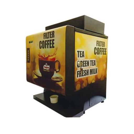 Mild Steel And Stainless Steel Automatic Coffee Decoction Vending Machine, For Office,Restaurants