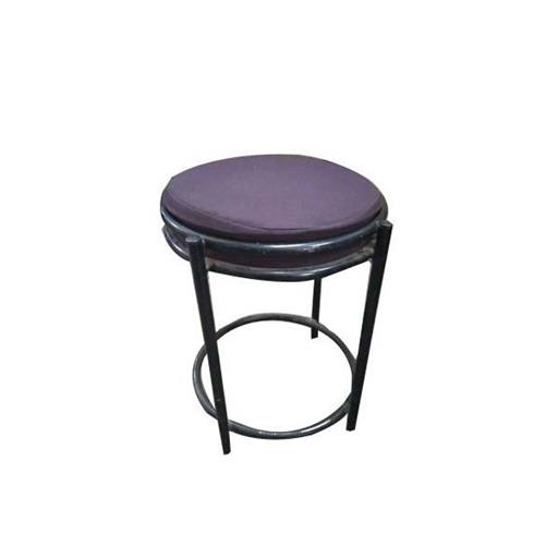 Mild Steel Purple MS Stool