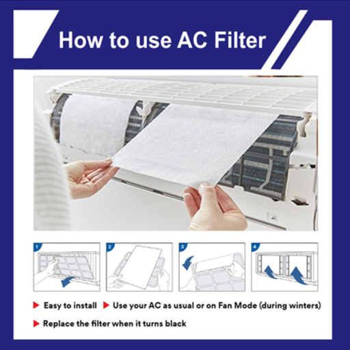 Air Purifying Pre Filters 1 Set