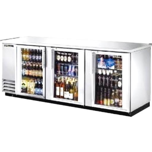 Black Ss Back Bar Chiller