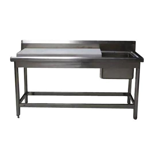 Rectangle SS Work Table With Sink