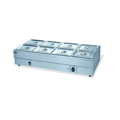 Rectangular Commercial SS Bain Marie