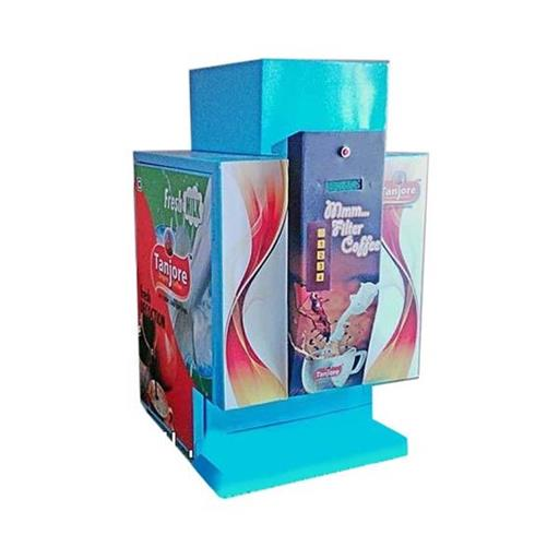 Tanjore Stainless Steel And Mild Steel Semi Automatic Coffee Vending Machine, For Office,Restaurants