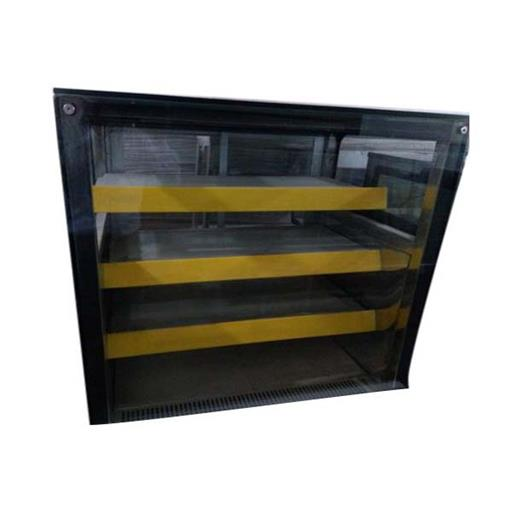 SS And Glass Sweet Display Counter, Warranty: 1 Year, for Commercial