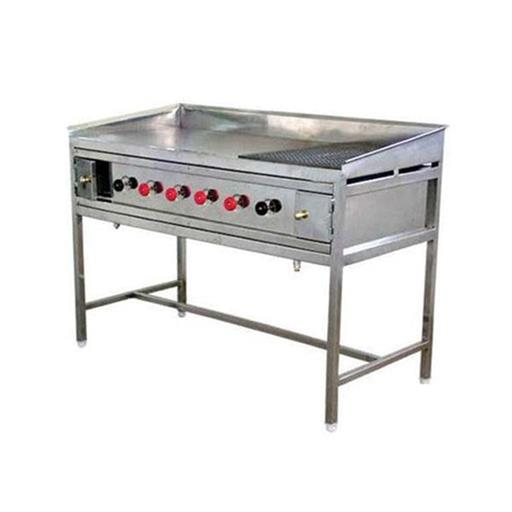 SS Hot Plate With Chapati Puffer for Commercial