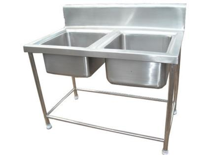 SS Double Sink Unit