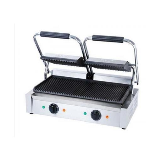 Sandwich Griller Double Head Grooved