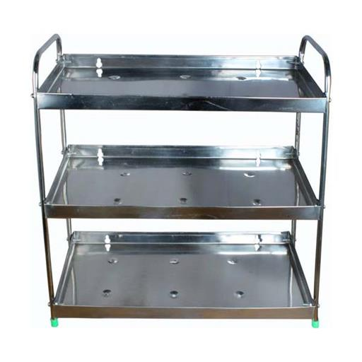 Silver Color Stainless Steel Kitchen Rack