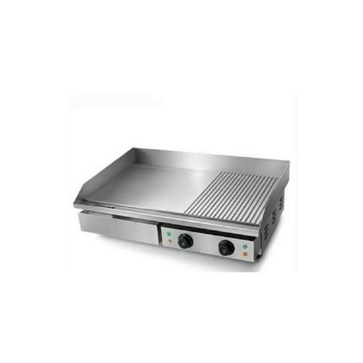 Silver Stainless Steel Electric Griddle Plate