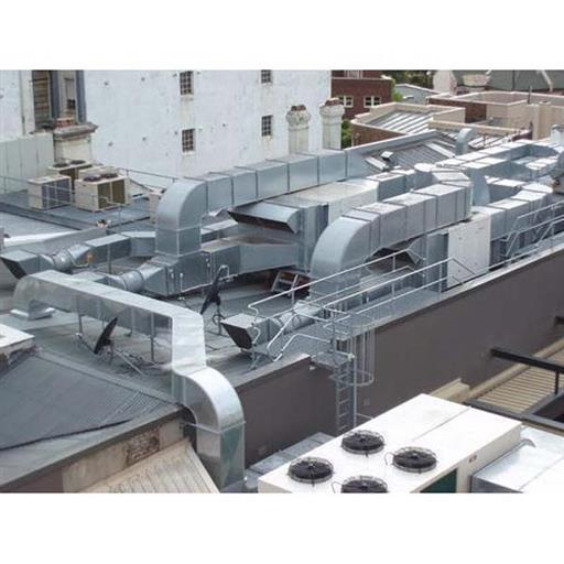 Square Galvanized Iron Air Conditioning Ducting Service, for Hvac,Cooling & Exhaust